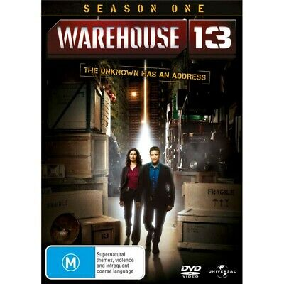 Warehouse 13 : Season 1 (DVD, 2011, 4-Disc Set) Paranormal Supernatural