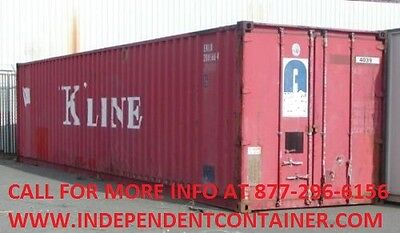 40' Cargo Container / Shipping Container / Storage Container in Louisville KY