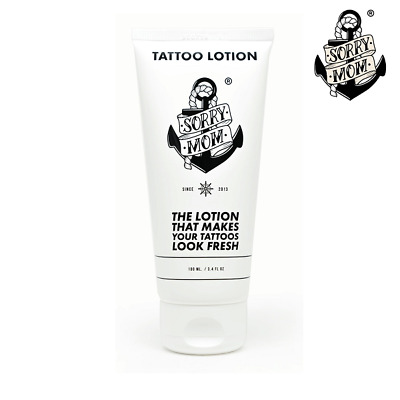 'SORRY MOM' TATTOO AFTERCARE LOTION (40ml). HEALS + PROTECTS - FAST DELIVERY