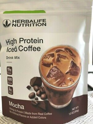 NEW Herbalife High Protein Iced Coffee - MOCHA OR HOUSE BLEND 12Oz exp 06/2020