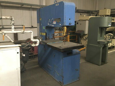 """Startrite 316 H, Vertical Band Saw, Capacity 18"""" x 26"""", Blade Size 14'4"""" x 1"""""""