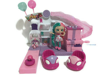 Shopkins Shoppies Doll with Bowling Alley & Bumper Cars Playset  #2899