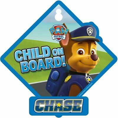 Paw Patrol 2792/PPBBC Chase Baby on Board Sign