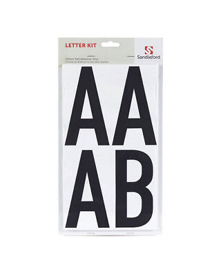 Sandleford - Quality Self Adhesive House Letter & Number Set / Kit - 150Mm