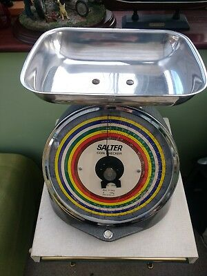 Vintage SALTER Coin Checker Set of Scales