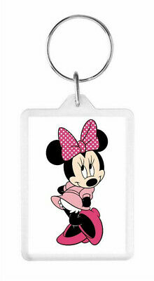 Minnie Mouse - Cute Large Double-Sided Keyring - Perfect Christmas Gift