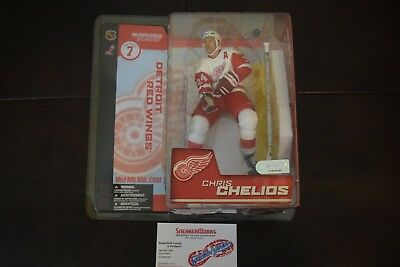 New Vintage McFarlanes Sports Pick Chris Chelios Action Figure Detroit Red Wings