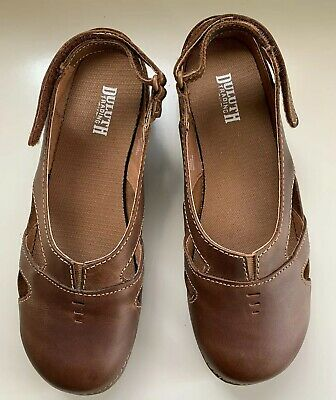 e13524976e9d DULUTH TRADING CO Andina Brown Leather Lace-Up Chukka Boot Women s ...