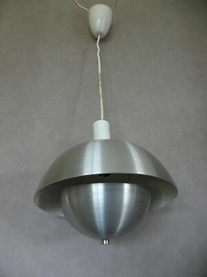 light 70's space age Ceiling VTG MODERN HANGING ufo LAMP Atomic fixture PANTON