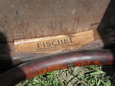 chair Fischel THONET WOOD STUNNING VINTAGE chaise art deco -c1910 old antique