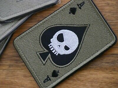 Death Card Military Tactical Patch / paintball / airsoft / prepper