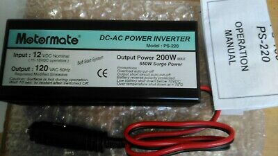 Inverter DC-AC 200w MotorMate - Used