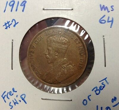1919 Canadian Large Cent Uncirculated