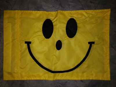 NEW Smiley Face Replacement Flag ATV Bicycle Rhino UTV