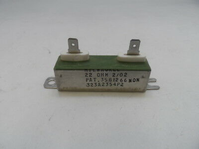 General Electric 323A2354P2, 22 Ohm, Wire Wound Resistor, Used