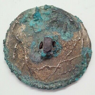 Art Bronze  Mirror Lizard / Deer / Human / Zoomorphic28mm. 100-300AD. Scythian