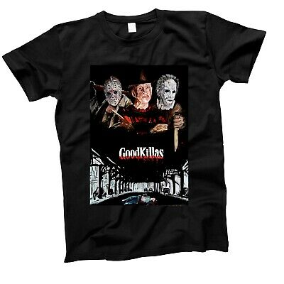 Halloween Friday 13Th Goodfellas Horror Crime Sci Fi Film Movie Retro T Shirt
