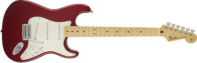 Fender 0144602509 Standard Stratocaster, Maple FB - Candy Apple Red  -NEW !