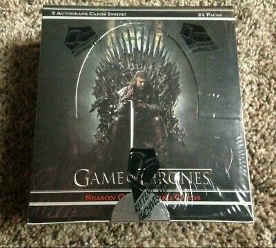 2013 Rittenhouse House Game Of Thrones Season 1 Hobby Box Factory Sealed Rare!!!