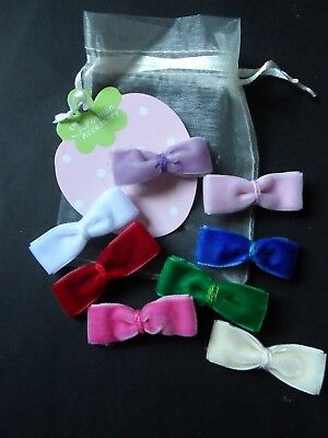 mini hair clips,girls hair clips hair slides snap clips velvet bows baby hair