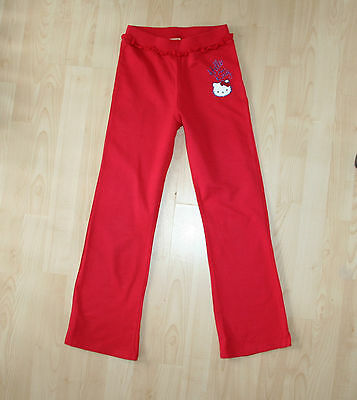 SANRIO Hello Kitty Red Lounge Trousers Bottoms Joggers Sz 10 yrs