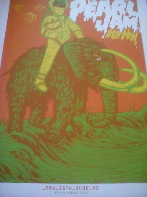 Pearl Jam Boston 2006 Tour Poster 28x21cm from Book to Frame?