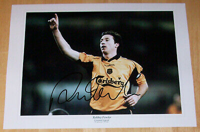 Robbie Fowler Liverpool Personally Hand Signed Autograph 16X12 Photo Soccer