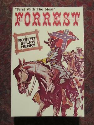 General Nathan Bedford Forrest C.s.a. - First With The Most - New - Civil War