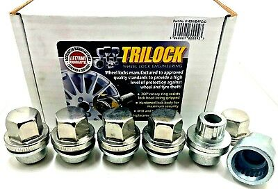 5 X  ALLOY WHEEL LOCKING NUTS FOR LAND ROVER DEFENDER M16 x 1.5 BOLTS STUDS [82]