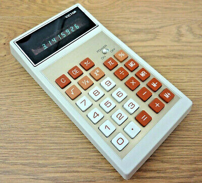 Victor 104R Vintage Vacuum Fluorescent Display Calculator