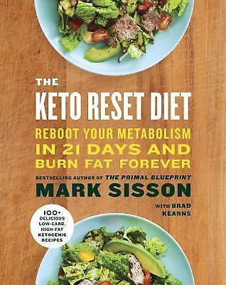 The Keto Reset Diet (PDF B00K)