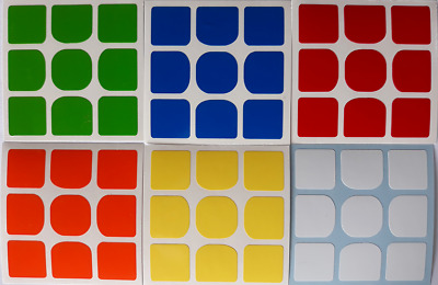 Magic Cube Stickers set to Yuxin Little Magic 3x3  55mm