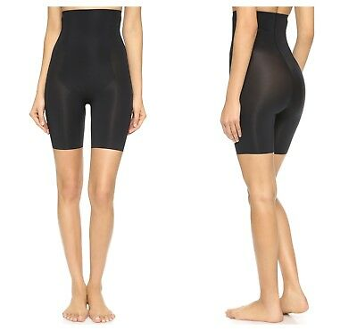 SPANX TRUST YOUR THINSTINCTS HIGH WAIST MID THIGH SLIMMING SHORTS Sz L NWT $ 72