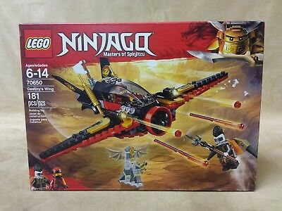 LEGO Ninjago Destinys Wing Set 70650 Brand New Sealed 181 Pieces Building Toy