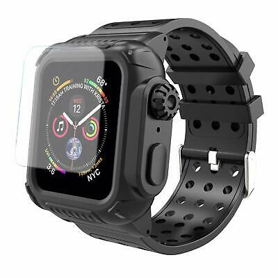 For Apple Watch Series 4 Armor Case Band 44mm Rugged Full Body Protective Cover
