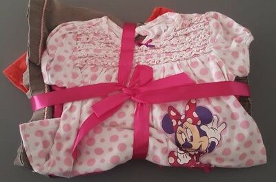 Girls 6 Clothes Bundle 2-3 Years Disney Gymboree M&Co George Skirt Trousers Tops