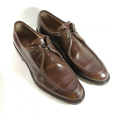 757ff4794d1a1 Brooks Brothers Mens Size 12 D Split Toe Oxfords Leather Dress Shoes  Handmade