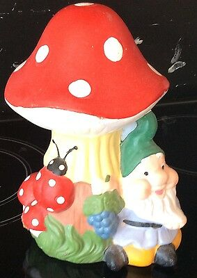 latex mould for making gnome under toad stool