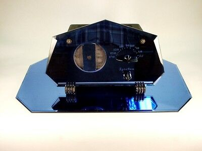 Sparton Model 409Gl 7 Sided Blue Mirror Radio Extremely Rare Excellent