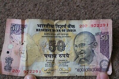 INDIA INDIAN 50 Rupee Bank Note