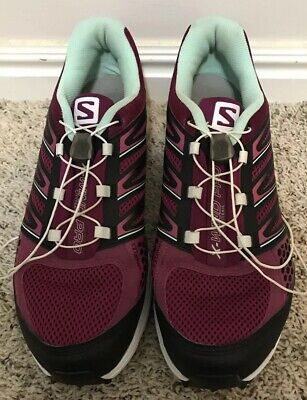 check-out e21a6 88b6a WOMENS SALOMON X-WIND PRO CITY TRAIL Sports/Running Shoes/Sneakers Size  10.5 EUC