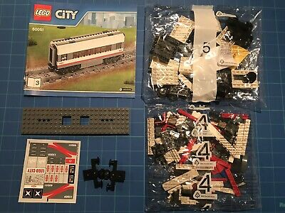 * Retired Lego City High Speed Passenger Train w// Power Function 60051 NEW