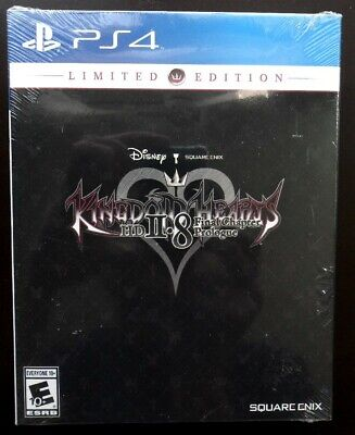 NEW! Kingdom Hearts HD II.8 2.8 Final Chapter Prologue Limited Edition  PS4