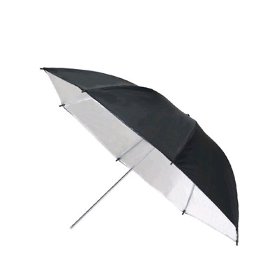 72'' (180cm) Umbrella Black and White