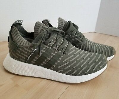 79ce2f4d2 Women s adidas NMD R2 PK Size 10 Japan Olive BY9953 Boost Primeknit