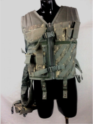 NCSTAR CHEST RIG TACTICAL VEST Police CROSS DRAW HOLSTER BELT & Hydration Pack