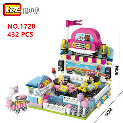 9205 LOZ MINI Blocks Assembly DIY Kids Building Toys Puzzle Gift Flamingo