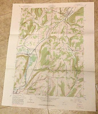 Naples NY Geological Survey Topographic Topo Map - 1976