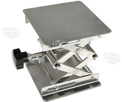 10X10cm Lab-Lift Lifting Platforms Stand Rack Scissor Stainless Laboratory