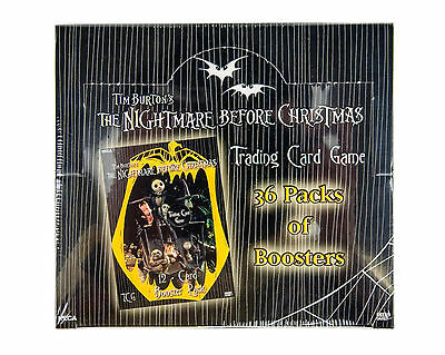 Nightmare Before Christmas Trading Card Game BOOSTER BOX NECA TCG CCG Disney NIB